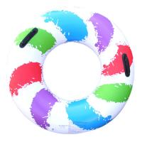 China Cute Single Round Pvc Inflatable swimming ring wholesale