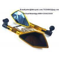 China Universal Motorcycle Decoration Accessories , Motorcycle Handlebar Back Mirror ZX 2823 wholesale