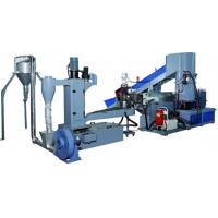 Buy cheap Industrial Small Scale Plastic Recycling Machine / Plastic Recycling Plant from wholesalers