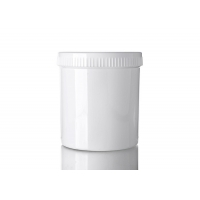 China 1000ml PP Wide Mouth Face Cream Jars For Powder Hair Film wholesale