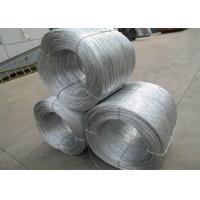China Soft Hot Dipped Galvanized Wire , Mild Steel Binding Wire For Construction wholesale