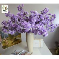 China UVG CHR130 artificial crape myrtle flowers decorative tree branches for party decoration wholesale