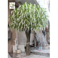 China UVG WIS012 artificial flower tree with fake wisteria blossoms for party background decoration wholesale