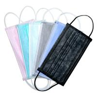 China Non Woven 3 Ply Surgical Face Mask Multiple Color Comfortable Fit Earloop Type wholesale