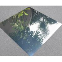 China 1050 1060 Mirror Polished Aluminum Sheet 3mm Thickness Light Weight Easy Cleaning wholesale