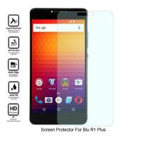 China No Bubble Blu R1 Plus Clear Screen Guard, Oleophobic Clear Tempered Glass wholesale