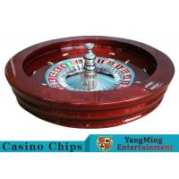 "Luxury Casino Gaming Standard Solid Wood 32"" Roulette Wheel Dedicated For for sale"