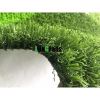 China 3D W Shape Football Synthetic Grass Anti UV Soccer Artificial Grass Indoor Soccer Turf on sale