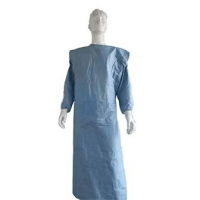 China Biodegradable Fabric Surgical Consumables Disposable Hospital Gowns wholesale