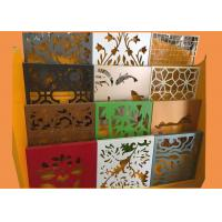 Buy cheap Irregular 3004 Aluminum Perforated Metal Sheet With Artistic Shapes Hole from wholesalers