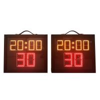 China Indoor Aluminum Basketball Shot Clock , Multi Sport Scoreboard With Game Time wholesale