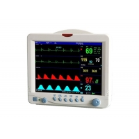China Digital Vital Signs Monitor Patient Care Monitor Hospital Patient Monitoring Equipment With 5 Para Patient Monitor wholesale