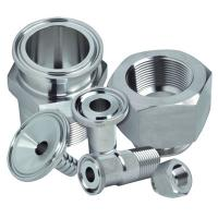 China Dairy Welding Tri Clamp Stainless Steel Sanitary Pipe Fittings Corrosion Resistance wholesale