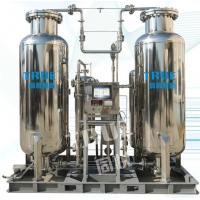 Buy cheap Stainless Steel Industrial Nitrogen Generator 99.9995% 440V / 220V CE Certificated from wholesalers