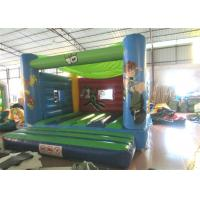 China Attractive Blow Up Jump House 0.55mm Pvc , Outdoor Games Toddler Bounce House wholesale