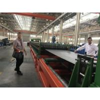 China Automatic Steel Silo Roll Forming Machine , Working Speed 0-15m/min Adjustable wholesale
