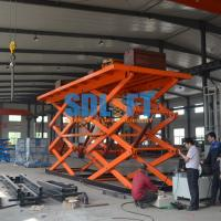 Buy cheap 12T 6M Double Scissor Lift Table from wholesalers