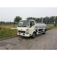 Quality SINOTRUK HOWO 4x2 4102N Light Oil Tank Truck For Transportation wholesale