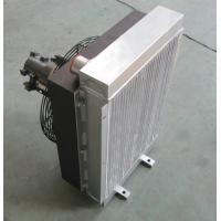 China Bar And Plate Compact Heat Exchanger oil cooler with electrical fan wholesale