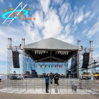 China Outdoor Stage Lighting Aluminum Roof Truss For Line Array wholesale