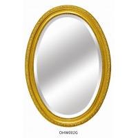 China Mirror frames, oval shape with gold color frames on sale