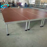 China 1.22M*2.44M Portable Aluminum Stage Platform With Stage Kits wholesale