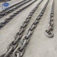 China High Strength Grade U3 Self Color Ship Stud Link Marine Anchor Chain wholesale