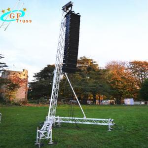 China Vocal Concert Line Array Truss Light Weight Truss Line Array Tower wholesale