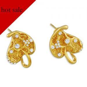Heart design earring