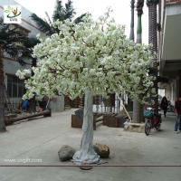 China UVG home landsacping high simulation white cherry flower artificial tree for weddings CHR012 wholesale