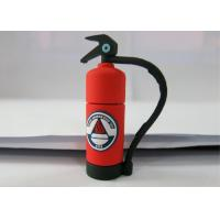 Personalised Red 3.0 Plastic USB Flash Drive , Fire Extinguishing Shape