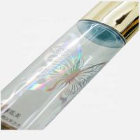 China Eco transparents screen silk printing cosmetic labels for plastic bottle label on sale