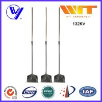 China Electronic Copper Coated Steel Lightning Rod For Power Station Protection on sale
