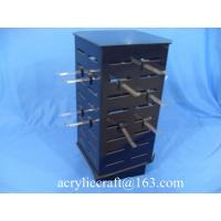China Custom countertop rotating necklace display case / acrylic jewelry display stand wholesale