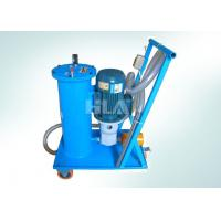 China Hand Push Type Portable Oil Filtration Cart With Europe Brand Pump wholesale