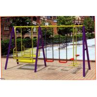 China Children Outdoor Steel&LLDPE Swing (XSD06111) wholesale
