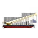 Steel Crane Wire Rope RHOL Lay Strong Breaking Force ASTM Standard Steel for sale