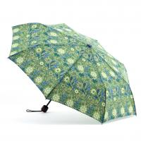 China Printed Flat Mini Manual Open Umbrella , Easy Open Close Umbrella Plastic Handle wholesale