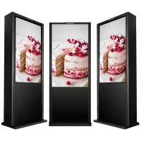 China 75 inch Outdoor Touch Screen Kiosk / Android Based Standing Digital Signage on sale