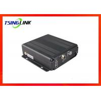China 4G 4CH AHD Vehicle Mobile DVR Supports Two Way Video Talkback With Micro SD Card wholesale