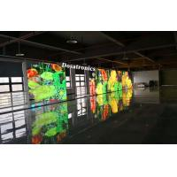 Buy cheap Super Transparent P5 mm x 10 mm Transparent LED Display For Stage Back Ground from wholesalers