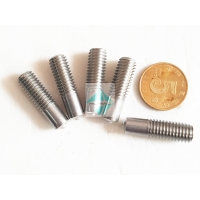 China Stainless Steel Annular Grooved Stud Welding Pins , Copper Plated Mild Steel M5 - M12 Stud Welder Pins With Threaded wholesale