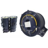China Blue Paintcoat FO Single Mode Fiber Spool , SMF G652D 250um Bare Fiber Optic Cable wholesale