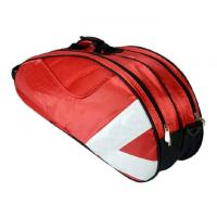 Oxford Fabric Materials Badminton Racket Bag Accommodate 3 - 6 Badminton Racket