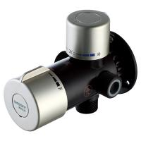 """China Solar Thermostatic Mixing Valve A6 1/2"""" Brass For Electrical Water Heaters KSTP wholesale"""