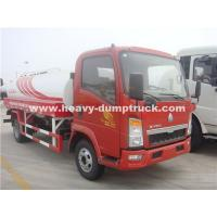 Quality Light Duty 10CBM  Water Tank Truck Sinotruk With Left Hand Driving Steering wholesale