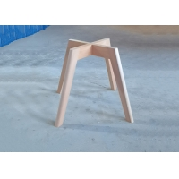 China Beech Dining Room Chair Frames , Dining Chairs Wooden Legs Stable Structure wholesale