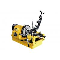 China 1/2 Inch To 3 Inch Electric Pipe Threading Machine With Self Priming Constant Flow Pump wholesale
