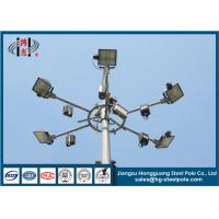 Buy cheap ODM / OEM Galvanized Decorative Light Pole For Street , Road , Square from wholesalers