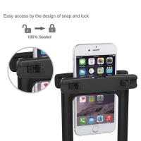 Quality Eco Friendly TPU Waterproof Phone Holder , Waterproof Cell Phone Case Recyclable Feature for sale